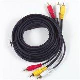 RCA Cable con 3RCA Male a 3RCA Male (RCA06)