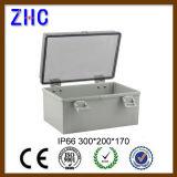 Пластичная распределительная коробка 300*200*170 защищенная погодой IP66 с ясной крышкой