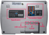 Fingerabdruck-Zugriffssteuerung mit GPRS Funktion (USCANII-GPRS)