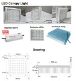 In een nis gezette Ceiling Light IP65 150W Canopy Light LED