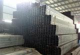 Tubulação de aço quadrada galvanizada de MERGULHO quente ERW (Q235-Q345)