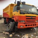 Camion à benne basculante inoxydable utilisé de Failry Ud-Nissan d'occasion (12503cc-engine)