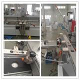 Machine en aluminium de couteau de copie de mur rideau de guichet de profil de double axe