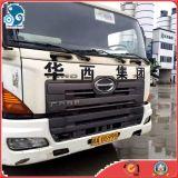 tipo de conducción de 6X4 LHD carro del mezclador de cemento del concreto de Hino 700 del carro del mezclador de 9m3