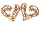 De Oorring van het Ontwerp van de manier, de Oorring E6708 van de Juwelen van het Hart