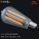 Ampoule en queue de poisson de filament de la forme DEL de St64 E26 avec du ce d'UL