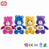사랑스러운 세륨 장난감 곰이 4개의 색깔 질에 의하여 채워진 견면 벨벳에 의하여 농담을 한다