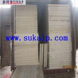 El panel de emparedado de acero