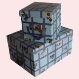 Fördernde Schmucksache-Geschenk-Kästen, Großhandelsgeschenk-Kästen, kleine Papierkästen für Verkauf