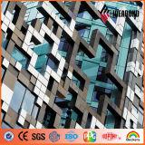 De BuitenMuur van Ideabond Decoratief plus het Samengestelde Comité van het Aluminium PVDF (af-400)