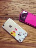 Горячая милая линия аргументы за iPhone6 медведя любовников прозрачное TPU коробки