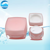 Lotion cor-de-rosa Bottle Arylic Jar para Cosmetic