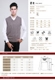 Yak Wool Pullover V Neck Waistcoat / Cashmere Garment / Yak Wool Clothing