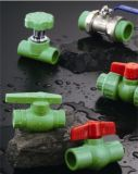 Hot와 Cold Water Supply를 위한 PPR Fittings Stop Valve