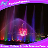 Laser Curtain Music Fountain Project를 가진 물 Screen Movie