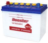 Batterie, trockene Automobilbatterie, nachladbare Leitungskabel-Säure-Batterie Ns70L