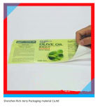 シールの印刷。 印刷の基板のためのシールの札に