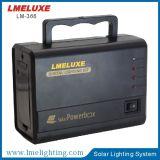 10W sistema de iluminação da fonte de alimentação do painel solar 12V