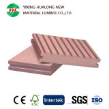 WPC Anti-UV Decking avec Good Price (HLM38)