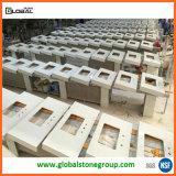 Partes superiores da vaidade de quartzo de China para a mobília do banheiro