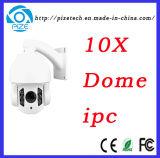 In openlucht 4 Camera van het Netwerk van de Camera van IRL IP van de Koepel van de Snelheid van de Camera van de Veiligheid van de Omwenteling van de Duim 1.3MP 10X 0~ 360 de Ononderbroken IP66 {BR-Mn4113u-X10r}