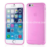 2015 самое лучшее iPhone 6 аргументы за Selling Colorful Ultra Thin Soft TPU, аргументы за iPhone6s Transparent