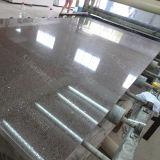 Камень кварца плитки настила полируя белый проектированный