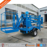 Heißer Verkauf! ! Schlussteil eingehangener hydraulischer Towable Hochkonjunktur-Aufzug für Verkauf