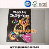 Carta da disegno Handmade del bambino per la progettazione di cad