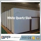 Bancada Polished branca/bege Multi-Function da pedra de quartzo para a cozinha