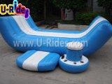 Equipamento de jogos inflável da água para o lago