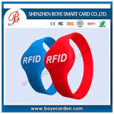 Wristband do silicone de 1k RFID para a piscina