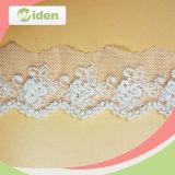 Конструкция клиента приветствовала большинств популярный восхитительный сетчатый шнурок вышивки