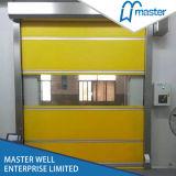 速い圧延産業PVC物質的な巻き上げのドア