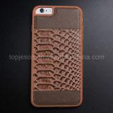 Рыб-Вычислите по маштабу iPhone 6 аргументы за неподдельной кожи картины добавочное