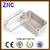 Cerco à prova de intempéries eletrônico da tampa cinzenta plástica do ABS da alta qualidade de 80*130*70 IP66