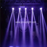 De mini Disco LED Stage Light van Hawk Eye 3X30W 4in1 Beam Wash Zoom RGBW
