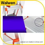 Faltende Beweglichkeits-Handlauf-Stahljobstep-Strichleiter