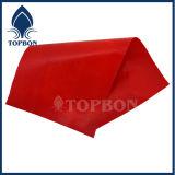 Bâche de protection imperméable à l'eau colorée de PVC pour la couverture Tb021 de tente ou de toit