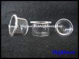 Vidrio de cuarzo transparente de la silicona fundida de la pureza elevada Copple