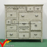 сбывание Stylehot Antique шкафа сбывания off-White цвета горячее с ящиками
