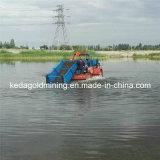 بحيرة مادّيّة [ويد] حصّاد زورق