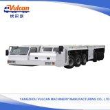 De qualité internationale de Lowbed remorque normale de camion semi (personnalisée)