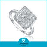 明白な銀製指リング(SH-R0013)