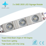 módulo de 0.72W SMD 2835 LED para las cartas de canal