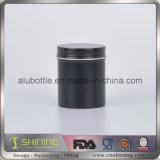 Boîte en métal de café avec l'empaquetage de couvercle