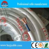 Fio elétrico Sheathed PVC macio da isolação do PVC da conduta