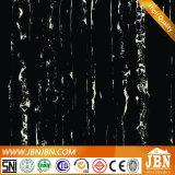 Azulejo de suelo de mármol negro homogéneo de la carrocería completa (JM6614)