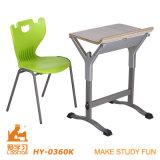 Mordenの安い大学机および椅子(調節可能なアルミニウム)