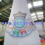 Gigante que hace publicidad de la botella inflable/de la impresión en color que hacen publicidad de la botella inflable